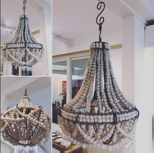 Klaylife Frill Beaded Chandelier