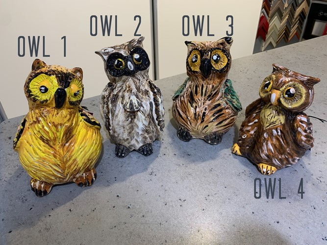 Owl Family (sold seperately)